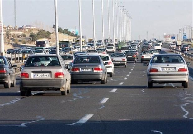آزاد راه های قزوین با ترافیک سنگین روبرو است