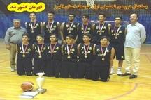 دانش آموزان البرز قهرمان مسابقات بسکتبال کشور شدند