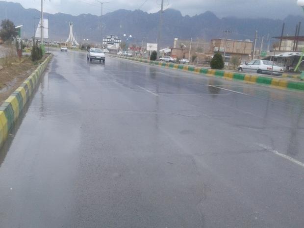 باران سبب خوشحالی مردم خاش شد