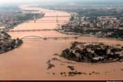 هدایت سیلاب خوزستان به دجله و کانونهای ریزگرد در عراق  موافقت با گشودن کانال ۲۱ هورالعظیم