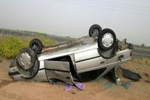 واژگونی خودرو پراید یک کشته به جا گذاشت