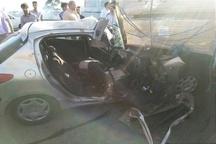 سانحه رانندگی در مسیر سبزار - نیشابور یک کشته برجای گذاشت