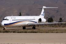 هواپیمای مشهد - رشت پس از وقفه ای کوتاه عازم مقصد شد