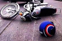 برخورد سمند با موتورسیکلت یک کشته داشت