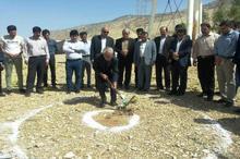 عملیات اجرایی ساخت شهرک شهید رضایی نژاد آبدانان آغاز شد