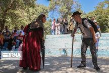 فعالیت ۱۵ گروه تئاتر خیابانی در قزوین