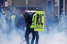 جلیقه زردهای فرانسه باز هم به خیابان ها آمدند