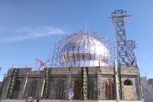 240 میلیارد ریال صرف بازسازی امامزاده محمد خمین شد
