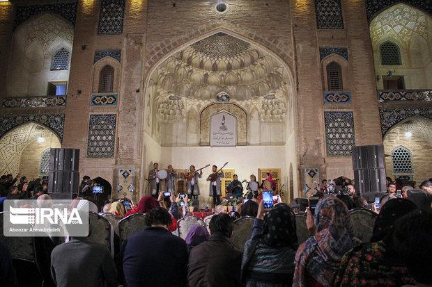 درخشش ستارههای جنوب در شبهای موسیقی کرمان