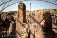 محوطه باستانی «شهر یئری» مشگین شهر