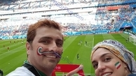 دلجویی امین زندگانی از هواداران تیم ملی مراکش+ فلیم