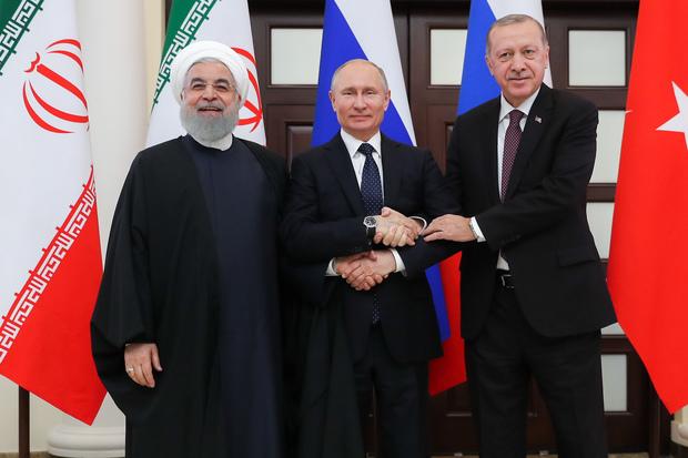 بیانیه مشترک روسای جمهوری ایران، روسیه و ترکیه در پایان نشست سوچی