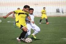 تعیین سرنوشت تیم فجر برای بقا در لیگ دسته اول به هفته آخر کشیده شد