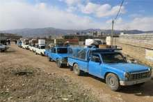 همزمان با عید فطر 54 زوج مددجوی کمیته امداد باشت به خانه بخت رفتند