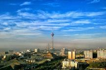 کیفیت هوای پایتخت با شاخص 65 سالم است