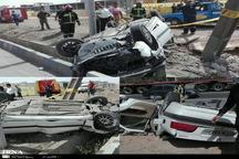 حادثه رانندگی در بزرگراه امام رضا(ع) سه مصدوم بر جای گذاشت