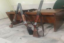دستگیری سه شکارچی غیرمجاز در ساوجبلاغ