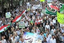 راهپیمایی روز قدس نماد همبستگی ملت ایران است