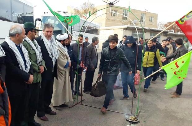 5500 نفر از استان مرکزی به مناطق عملیاتی اعزام شدند