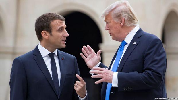 ناراحتی ترامپ از پیشنهاد ماکرون در مورد ایران