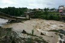 57 پل و آب رو درگیلان بین20 تا 100درصد تخریب شد