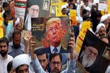 مردم استان بوشهر در حمایت از سپاه راهپیمایی کردند