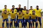 تیم نفت مسجدسلیمان در تهران اردو زد.