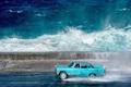 عکس روز نشنال جئوگرافیک؛ رانندگی در ساحل دریا