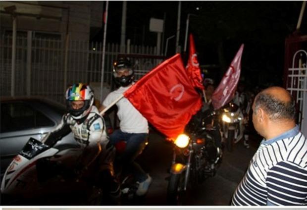 رژه موتوری اهداکنندگان خون در مشهد برگزار شد