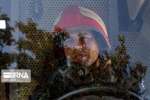 امدادرسانی آتش نشانان رشت در پی حریق و محبوس شدن راننده
