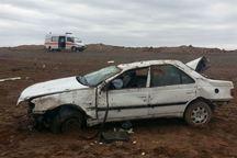 حادثه رانندگی در محور قم - گرمسار 6 مصدوم بر جای گذاشت
