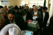 مانور انتخابات الکترونیکی در بجنورد برگزار شد