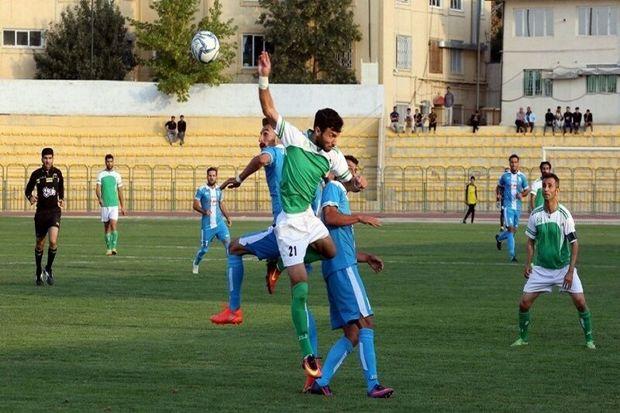 تیم کشاورز بوکان مقابل محتشم تبریز شکست خورد