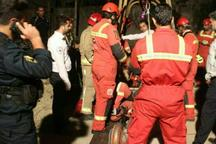 کارگر مقنی در تهران از مرگ  نجات یافت