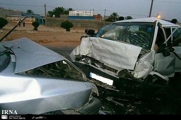 تصادف 2 خودرو در کاشان 11 آسیب دیده داشت