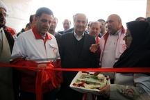 ساختمان مرکز پشتیبانی عملیات امداد و نجات ایلام افتتاح شد
