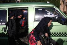 سرویس دانش آموزان در شیراز واژگون شد