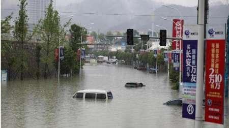 توفان هزاران چینی را آواره کرد