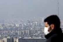 تراکم آلاینده ها در هوای اراک  شاخص های کیفی هوا ناسالم برای گروه های سنی حساس
