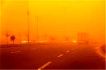 سرعت وزش باد در زابل به 115 کیلومتر بر ساعت رسید