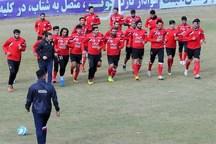 گزارش تمرین تراکتورسازی  تراکتوریها در ورزشگاه یادگار امام (ره) تمرین کردند