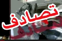 5 مصدوم در حادثه رانندگی در محور نیشابور - مشهد
