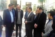 معاون وزیر کشور از ربات های امدادی قزوین بازدید کرد