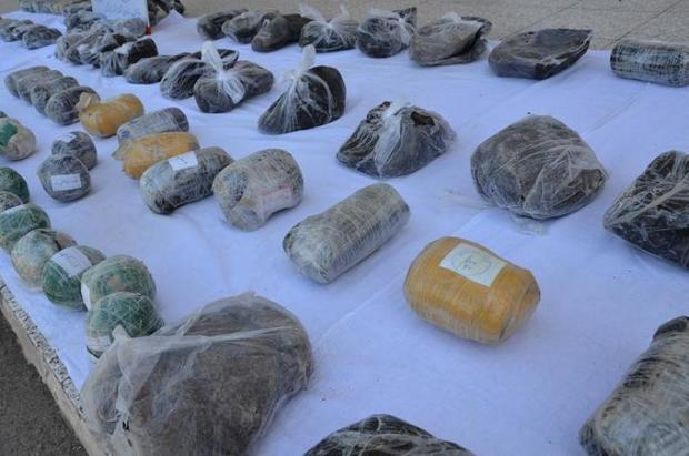 713 کیلوگرم مواد مخدر در مسیر خراسان رضوی ضبط شد