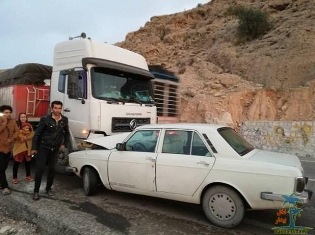 حادثه رانندگی در قزوین یک کشته به همراه داشت