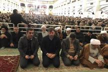 حضور سرمربی ترکیهای در نماز جمعه تبریز