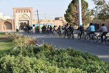همایش دوچرخه سواری در بهاباد برگزار شد