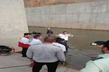 امدادگران هلال احمر زنجان جسد جوان غرق شده در سد بلوبین را بیرون کشیدند