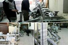 تجهیز خوابگاه های دانشجویی علوم پزشکی همدان به دستگاه های ورزشی