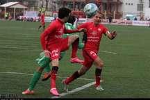 صعود سپیدرود رشت به لیگ برتر فوتبال با پیروزی مقابل نساجی قائمشهر